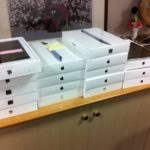 Boxed iPads